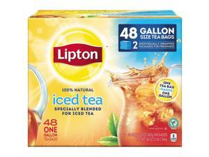 Lipton Iced Tea Bags Gallon Size 48 ct Pack of 48