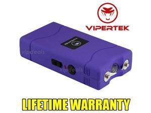 PURPLE Mini Stun  VTS-880 100 BV Rechargeable LED Flashlight