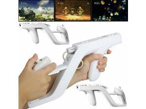 2 Zapper  for  Wii Remote Wiimote Controller