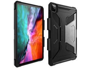 Protective Case Apple iPad Pro 12.9 2020 Bi-material Shockproof Black