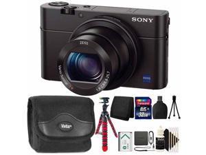 Sony Cyber-shot DSC-RX100 III 20.1MP Built-In Wi-Fi Digital Camera with 32GB Accessory Kit