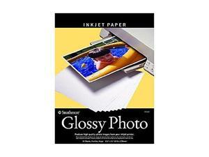 """strathmore heavy weight inkjet str59632 glossy digital photo paper, 8.5 by 11"""", 81/2 x 11 inches gloss 15"""