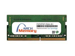 Arch Memory Replacement for Synology D4NESO-2666-4G 4GB 260-Pin DDR4-2666 PC4-21300 Sodimm RAM Upgrade