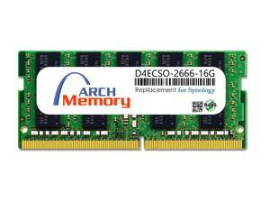 Arch Memory Replacement for Synology D4ECSO-2666-16G 16GB DDR4-2666 PC4-21300 260-Pin ECC Sodimm RAM Upgrade