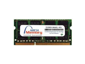Certified for Synology D3NS1866L-4G 4 GB DDR3L-1866 PC3L-14900 204-Pin So-dimm RAM for DiskStation DS918+ by Arch Memory
