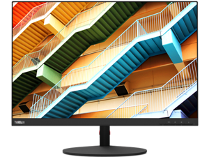 "Lenovo ThinkVision 61DCRAR1US 25"" 1920 x 1200 4 ms (Extreme mode) / 6 ms (Typical mode) / 14 ms (off mode) 60 Hz Built-in Speakers Monitor"