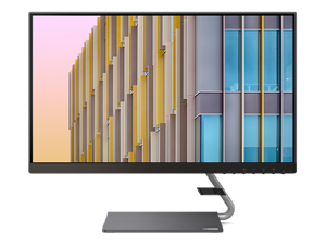 "Lenovo Q24h-10 24"" ( 23.8 viewable ) 2560 x 1440 (2K) QHD LED Backlit LCD Hub Monitor, USB-C, 75 Hz, 4 ms, AMD FreeSync, 99% sRGB, 66A8GCC6US"