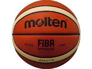 Molten GM7X FIBA Approved Ind/Out Basketball Official Size 7 Composite Leather