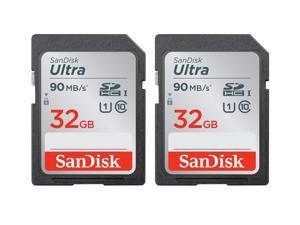 SanDisk Kit of Qty 2 x SanDisk Ultra 32GB SDHC SDSDUNR-032G-GN6IN