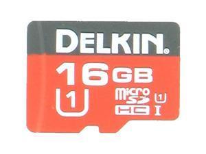Delkin S216BPH4Y-UR500-P CUQ 16GB 8pin microSDHC r24MB/s w17MB/s C10 U1 UHS-I Delkin microSDHC Memory Card Bulk