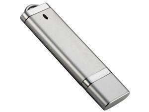 Gigaram UDF182-1GB-LI BTO 1GB USB 2.0 Flash Drive r15MBs w4MB/s Rectangular with Cap Silver in White Box