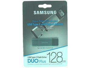 Samsung MUF-128DB/EU MAM 128GB USB 3.1 Type A and Type C Flash Drive r300MB/s Samsung Duo Plus Retail