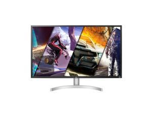 "LG 32UL500-W 32"" UHD 3840 x 2160 4K HDMI DisplayPort AMD FreeSync, DCI-P3 95% Color Gamut HDR 10 VESA Tilt Built-In Speaker Monitor"