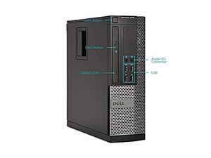 Dell Optiplex 9010 SFF Premium Desktop Computer (Intel Quad-Core i5-3470 3.4GHz, 8GB RAM, 240GB SSD, DVD, VGA, DisplayPort, WiFi, Windows 10 Professional) (Renewed) (9010 Intel i5 HDMI)