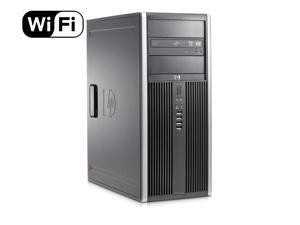 HP Elite 8300 Tower Flagship Business Desktop Computer (Intel Quad-Core i7-3770 up to 3.9GHz, 8GB RAM, 2TB HDD+ 240GB SSD, DVD, WiFi, VGA, DisplayPort, Windows 10 Professional) (Renewed)
