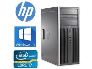 HP 8200 Elite Desktop, Intel Quad Core i7 3.4 GHz, 32GB DDR3,NEW 1TB HDD, Windows 10 Pro 64-Bit, WiFi-(Renewed)