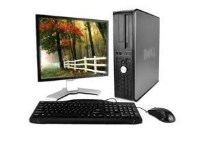 Optiplex 780 Premium Desktop Computer Package (Intel Dual-Core 2.93GHz, 4GB RAM, 250GB HDD, WiFi, Windows 10 Professional, 17in LCD Monitor) (Renewed)
