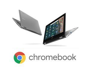 "Acer Chromebook Spin 311 Convertible Laptop, Intel Celeron N4020, 11.6"" HD Touch, 4GB LPDDR4, 32GB eMMC, Gigabit WiFi 5, Bluetooth 5.0, Google Chrome, CP311-2H-C679 (NX.HKKAA.005)"