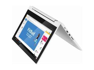 """(Lenovo) 2019 Newest Lenovo 2-in-1 11.6"""" HD IPS TouchScreen LED-Backlight Chromebook   MediaTek MT8173c 2.1 GHz Quad-Core   4GB RAM   32GB EMMC   SD Memory Card Can Up to 128GB SSD   Chrome OS   Blizz"""
