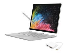 Microsoft Surface Book 2 13.5 Inch 1TB i7 16GB RAM Bundle (1.9GHz i7 Up to 4.2GHz, 3000 x 2000 Resolution, NVIDIA GeForce GTX 1050) (HNN-00007)