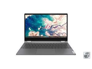 "Lenovo Chromebook Flex 5 13"" Laptop, FHD (1920 x 1080) Touch Display i3-10110U Processor, 4GB DDR4 OnBoard RAM, 64GB SSD, Intel Integrated Graphics, Chrome OS, 82B80006UX Graphite Grey (82B80006UX-cr)"