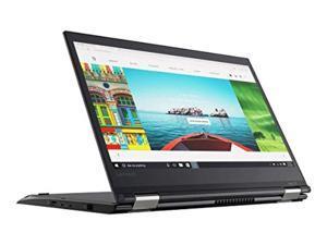 "Lenovo ThinkPad Yoga 370 Touch Laptop with Intel Core i5-7300U, 8GB DDR4 RAM, 256GB SSD - 13.3"" - Black - 20JH002AUS (Renewed) (20JH002AUS-cr)"