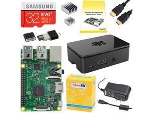 CanaKit Raspberry Pi 3 Complete Starter Kit - Includes 32 GB Samsung EVO+