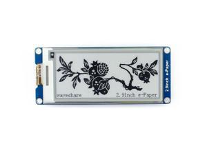 Waveshare 2.9 inch E-Paper Display Panel Module 296x128 Resolution 3.3v E-Ink Electronic Screen SPI Interface for Raspberry Pi/Arduino/Nucleo Support Partial Refresh