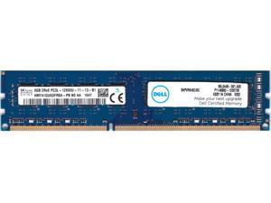 8GB 240p PC3-12800 CL11 16c 512x8 DDR3-1600 2Rx8 1.35V UDIMM