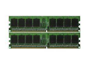 4GB 2x 2GB DDR2-800 MHz PC2-6400 Desktop Memory for eMachines EL1200-06w (MAJOR BRANDS)