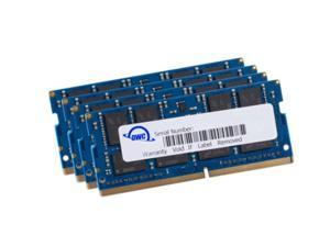 OWC 128GB (4 x 32GB) 2666MHz DDR4 PC4-21300 SO-DIMM 260 Pin Memory Upgrade, (OWC2666DR4S128S), for 2019 27 inch iMac (iMac19,1) and PC laptops