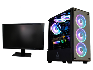 "Cobratype Poison Gaming Desktop PC - Intel Core i9 11900F, NVIDIA RTX 3080, 32GB DDR4, 2TB NVMe, AIO, Windows 10 - Free 24"" Monitor While Supplies Last"