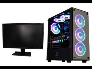 "Cobratype Leviathan Gaming Desktop PC - Ryzen 7 5800X, NVIDIA RTX 3080, 32GB DDR4, 2TB NVMe, AIO - Free 24"" Monitor While Supplies Last"