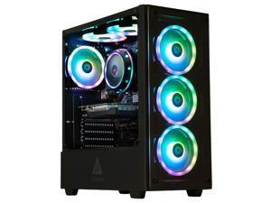 Cobratype Cantil Gaming Desktop PC – AMD Ryzen 5 5600x, NVIDIA GTX 1650, 16GB DDR4, 1TB NVMe, RGB Keyboard & Mouse