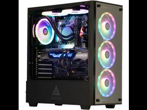 Cobratype Cascabel Gaming Desktop PC - Ryzen 5800X, RTX 3060, 32GB DDR4, 2TB NVMe, AIO Liquid Cooler, Windows 10 Pro