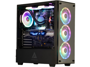 Cobratype Canebrake Gaming Desktop PC - Ryzen 5600X, RTX 3060, 32GB DDR4, 2TB NVMe, AIO Liquid Cooler, Windows 10 Pro