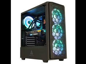Cobratype Lancehead Gaming Desktop PC - Intel Core i5-11400F, NVIDIA RTX 3060, 16GB DDR4, 1TB NVMe, AIO Liquid Cooler, Windows 10 Pro