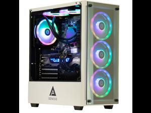 Cobratype Titanoboa Gaming Desktop PC - Ryzen 5600X, RTX 3060, 16GB DDR4, 1TB NVMe, AIO Liquid Cooler, Windows 10 Pro