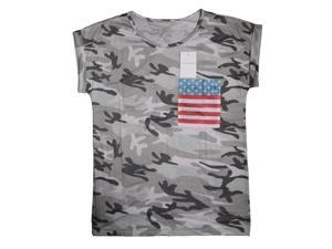 Kancehinage Summer Camouflage top short sleeves