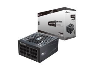 Seasonic PRIME TX-850, 850W 80+ Titanium, Full Modular, Fan Control in Fanless, Silent, and Cooling Mode,Perfect Power Supply for Gaming and High-Performance Systems, SSR-850TR