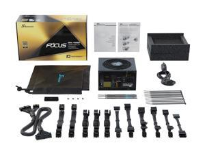 Seasonic FOCUS 1000W 80+ Gold, GX-1000,  Full-Modular, Fan Control in Fanless, Silent, and Cooling Mode,  140 MM deep fits ALL ATX systems Perfect Power Supply for Gaming , SSR-1000FX.