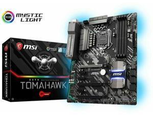 MSI Arsenal GAMING Intel 8th Gen LGA 1151 M.2 DVI ATX Motherboard Z370 TOMAHAWK(Manufacturerrefurbished)