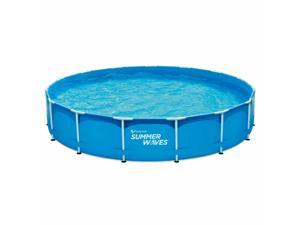 [Special sale, the last one! ]Summer Waves Active Frame 15 Foot Pool Set With 600 GPH Pump