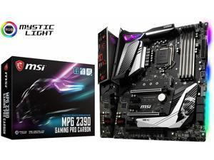 MSI MPG Z390 GAMING PRO CARBON AC LGA 1151 (300 Series) Intel Z390 SATA 6Gb/s AT