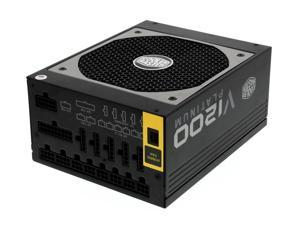Cooler Master V1200 - Fully Modular 1200W 80 PLUS Platinum PSU with Silent Fanless Mode Operation - [Manufacturer Refurbishe.d]