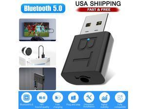 Bluetooth 5.0 Transmitter & Receiver Wireless Adapter Audio 3.5mm A2DP TV Stereo