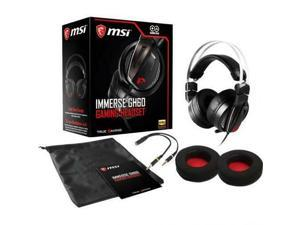MSI Immerse GH60 Gaming Headset-40Hz maximum frequency response-Hi-Res Audio