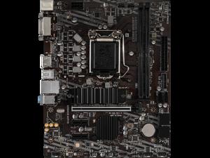 MSI B460M BOMBER LGA 1200 Intel B460 SATA 6Gb/s Micro ATX Intel Motherboard