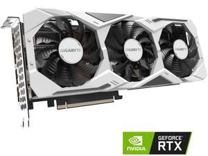 GIGABYTE GeForce RTX 2070 SUPER GAMING OC 3X WHITE DirectX 12 GV-N207SGAMINGOC WHITE-8GD 8GB 256-Bit GDDR6 PCI Express 3.0 x16 SLI Support ATX Video Card