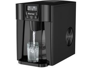 2 In 1 Ice Maker Water Dispenser Countertop 36Lbs/24H LCD Display Portable